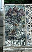 Mosaics by artist Miro Luketina, Makarska, Croatia.