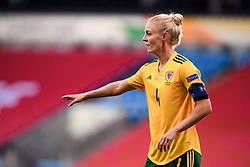 OSLO, NORWAY - Tuesday, September 22, 2020: Wales' captain Sophie Ingle, making her 100th appearance, during the UEFA Women's Euro 2022 England Qualifying Round Group C match between Norway Women and Wales Women at the Ullevaal Stadion. Norway won 1-0. (Pic by Vegard Wivestad Grøtt/Propaganda)