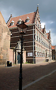 Historic school building Staten-School, Hofstraat, Dordrecht, Netherlands