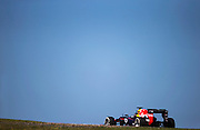 German Grand Prix<br /> <br /> Sebastian Vettel in his Red Bull RB9 at the 2013 German grand prix at the Nurburgring. <br /> ©Darren Heath/exclusivepix