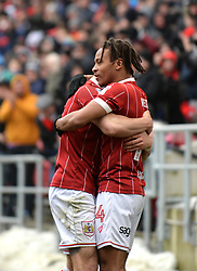 Bristol City's Bobby Read celebrates his goal to make it 1-0 against Sheffield Wednesday