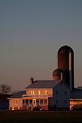 Farm across the road from Ralph Rohrer's turkey farm on Dry Creek Road, Dayton, Virginia