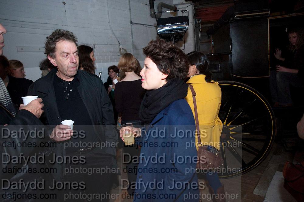 Opening of Statues Die Too.- Group exhibtion of Gabriele Beveridge, Niamh Riordan, Lise Hoveson, Rose O'Gallivan, Poppy Jones. The Garage. North Terrace, South Kensington. London. 16 November 2009.