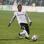 Besiktas's Manuel Fernandes during their UEFA Europa League Group Stage Group E soccer match Besiktas between Stoke City at Inonu stadium in Istanbul Turkey on Wednesday December 14, 2011. Photo by TURKPIX