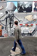 BERLIN, GERMANY - 28/06/2008 - TRAVEL, East side Gallery, Berlin wall..cfr. Berlin, Germany, capital, ..©Christophe VANDER EECKEN