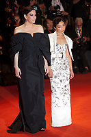 Venice, Italy, 29th August 2019, Liv Tyler and Ruth Negga at the gala screening of the film Ad Astra at the 76th Venice Film Festival, Sala Grande. Credit: Doreen Kennedy/Alamy Live News
