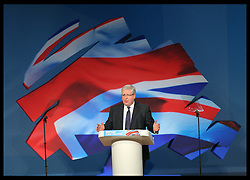 Transport Secretary Patrick McLoughlin gives speech  at the Conservative Party Conference hotel in Birmingham, Monday, 8th October 2012. Photo by: Stephen Lock / i-ImagesTransport Secretary Patrick McLoughlin gives speech  at the Conservative Party Conference hotel in Birmingham, Monday, 8th October 2012. Photo by: Stephen Lock / i-Images