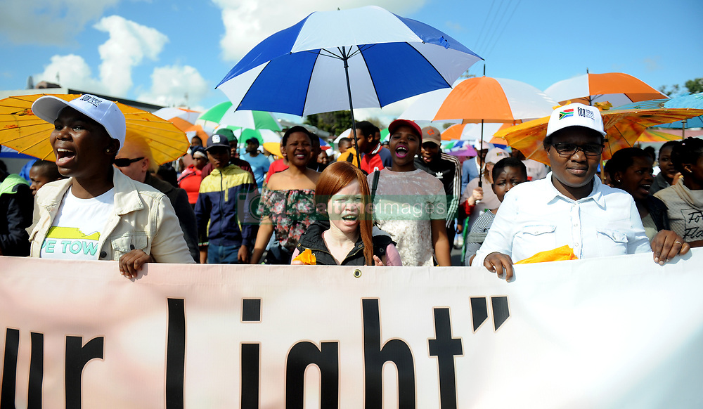 Cape Town- 180901 A walk in Langa  to make the start of Albinism Awareness Month September. September is Albinism Awareness Month. During this month the Department of Health provides information on albinism to make people more aware of what this condition is about Picture:Ayanda Ndamane/ African News Agency ANA