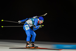February 11, 2018 - Pyeongchang, Gangwon, South Korea - Lukas Hofer of Italy at Mens 10 kilometre sprint Biathlon at olympics at Alpensia biathlon stadium, Pyeongchang, South Korea on February 11, 2018. (Credit Image: © Ulrik Pedersen/NurPhoto via ZUMA Press)
