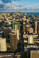King Street, Downtown Honolulu