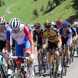 LEUKERBAD (SUI) CYCLING<br /> Tour de Suisse stage 5<br /> Christoph Pfingsten (Germany / Team Jumbo - Visma)