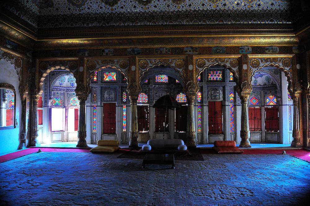 The Maharaja's pleasure room