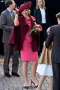 Koningsdag in Dordrecht / Kingsday in Dordrecht<br /> <br /> Op de foto / On the photo: <br /> <br />  koningin Maxima / Queen Maxima