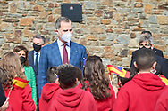 King Felipe VI of Spain attend a Meeting with the Spanish educational community in Andorra during 2 day State visit to Principality of Andorra at Maria Moliner Spanish School on March 26, 2021 in Andorra la Vella, Principality of Andorra  <br /> The two day trip marks the first visit to Andorra since King Felipe's enthronement and is also the first foreign trip since the begin of the Coronavirus pandemic.