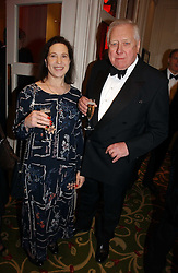LORD HATTERSLEY and MAGGIE PEARLSTINE at the Costa Book Awards 2006 held at The Grosvenor House Hotel, Park Lane, London W1 on 7th February 2007.<br /><br />NON EXCLUSIVE - WORLD RIGHTS