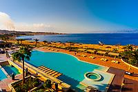 Radisson Blu Tala Bay Resort on the Gulf of Aqaba, Red Sea, near Aqaba, Jordan.