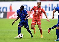 Fotball ,17. juli 2016 , EIiteserien ,Tippeligaen , Stabæk - Brann  1-1<br /> Amin Nouri , Brann , <br /> Kamal Issah , Stabæk