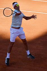 May 16, 2019 - Roma, Italia - Foto Alfredo Falcone - LaPresse.16/05/2019 Roma ( Italia).Sport Tennis.Internazionali BNL d'Italia 2019.Borna Coric (cro) vs Roger Federer (sui).Nella foto:Roger Federer..Photo Alfredo Falcone - LaPresse.16/05/2019 Roma (Italy).Sport Tennis.Internazionali BNL d'Italia 2019.Borna Coric (cro) vs Roger Federer (sui).In the pic:Roger Federer (Credit Image: © Alfredo Falcone/Lapresse via ZUMA Press)