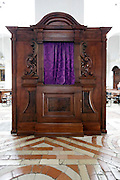 decorative confessional Italy