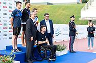 400 Stile Libero Uomini, Medaglia d oro DETTIGabriele ITALIA, Medaglia d argento CIAMPIMatteo ITALIA, Medaglia di bronzo IPSENAnton Oerskov DANIMARCA, BARELLI PAOLO, BORTUZZO MANUEL, GIORGETTI GIANCARLO<br /> FIN 56 Trofeo Sette Colli 2019 Internazionali d Italia<br /> 21/06/2019<br /> Stadio del Nuoto Foro Italico<br /> Photo © Giorgio Scala, Deepbluemedia, Insidefoto