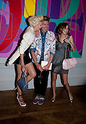 AGYNESS DEYN; HENRY HOLLAND; ALEXA CHUNG, Royal Academy Summer Exhibition 2009 preview party. royal academy of arts. Piccadilly. London. 3 June 2009.