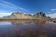 Stokksnes in east-Iceland