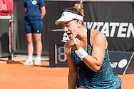 Danka Kovinic during the 2019 Swedish Open in Båstad on July 13, 2019. Photo Credit: Katja Boll/EVENTMEDIA.