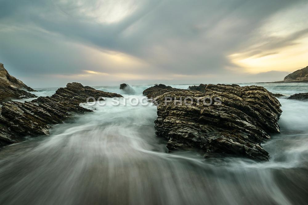 Seascape at Montana de Oro State Park in Los Osos California