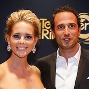 NLD/Amsterdam/20131018 - Inloop Televiziergala 2013, Chantal Janzen en partner Marco Geeratz