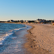 Shoreline of the Old Silver Beach, Cape Cod, Massachusetts