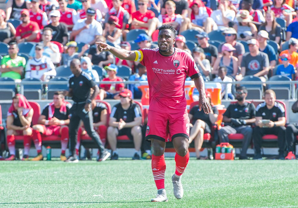 OTTAWA, ON - SEPTEMBER 24: USL match between the Ottawa Fury FC and Louisville City FC at TD Place Stadium in Ottawa, ON. Canada on Sept. 24, 2017.<br /> <br /> PHOTO: Steve Kingsman/Freestyle Photography/Ottawa Fury FC