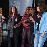 NLD/Amsterdam/20140415 - DVD presentatie Ladies of Soul, Candy Dulfer, Trijntje Oosterhuis, Berget Lewis, Edsilia Rombley en Glennis Grace