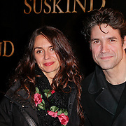 NLD/Amsterdam/20120115 - Premiere Suskind, Daniel Boissevain en partner Vanessa Henneman