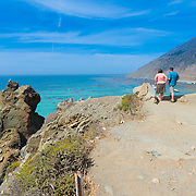 Big Sur near Bixby bridge, Pacific coast, California