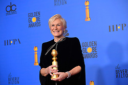 January 6, 2019 - Los Angeles, California, U.S. - Glenn Close in the Press Room during the 76th Annual Golden Globe Awards at The Beverly Hilton Hotel. (Credit Image: © Kevin Sullivan via ZUMA Wire)