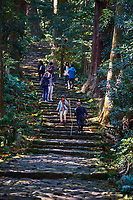 apon, île de Honshu, région de Wakayama, Kumano Kodo, chemin du pelerinage // Japan, Honshu, Wakayama, Kumano Kodo pilgrimage trail