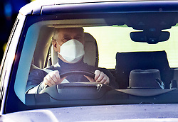 © Licensed to London News Pictures. 07/11/2020. Windsor, UK. Prince Andrew , Duke of York is seen driving near Windsor Castle. It is being reported that Prince Andrew will not attend the Remembrance Sunday ceremony at the Cenotaph in London tomorrow. Photo credit: Peter Macdiarmid/LNP