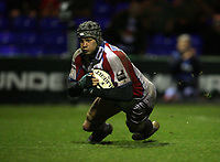Photo: Rich Eaton.<br /> <br /> Sale Sharks v Bristol Rugby. Guinness Premiership. 01/01/2007. Dan Ward-Smith goes over for Bristol in the second half to score the only try of the game and keep Bristol top