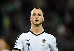 Marko Arnautovic of Austria  - Mandatory by-line: Joe Meredith/JMP - 18/06/2016 - FOOTBALL - Parc des Princes - Paris, France - Portugal v Austria - UEFA European Championship Group F