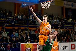 Alexander Shashkov of KK Helios Suns during basketball match between KK Helios Suns and KK Petrol Olimpija in Playoffs of Liga Nova KBM 2017/18, on March 26, 2018 in Hala Kominalnega Centra, Domzale, Slovenia. Photo by Urban Urbanc / Sportida