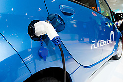 Peugeot ION electric car at Paris Motor Show 2010