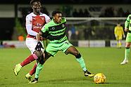 Forest Green Rovers v U21 Arsenal 071118