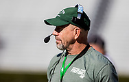 Dutch Fork Silver Foxes head coach Tom Knotts directs his team against the Dorman Cavaliers in the Class AAAAA State Championship Game at Williams-Brice Stadium in Columbia, SC. Dutch Fork wins their 4th straight state championship at Williams Brice Stadium. Photos ©JeffBlakePhoto.com