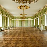 Randers Statsskole, Malerfirmaet Thage W  Nielsen har renoveret denne smukke sal