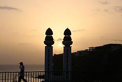 DAKAR, SENEGAL - OCTOBER 14: A view of Mosque of the Divinity during sunset in Dakar, Senegal on October 14, 2018. Alaattin Dogru / Anadolu Agency    BRAA20181014_230 Dakar Sénégal