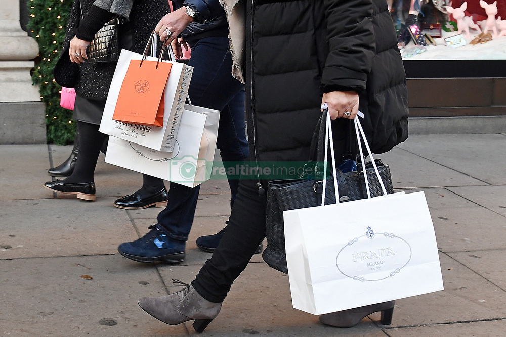 File photo dated 04/12/16 of shoppers. Consumer confidence fell in April amid pessimism about personal finances and the general economic situation for the year ahead.