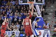 DESCRIZIONE : Eurocup 2015-2016 Last 32 Group N Dinamo Banco di Sardegna Sassari - Cai Zaragoza<br /> GIOCATORE : Viacheslav Kravstov Jarvis Varnado<br /> CATEGORIA : Schiacciata Sequenza Controcampo<br /> SQUADRA : Dinamo Banco di Sardegna Sassari<br /> EVENTO : Eurocup 2015-2016<br /> GARA : Dinamo Banco di Sardegna Sassari - Cai Zaragoza<br /> DATA : 27/01/2016<br /> SPORT : Pallacanestro <br /> AUTORE : Agenzia Ciamillo-Castoria/L.Canu