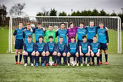 Steins Thistle Under-17's team pic at Allandale Park.