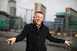 """© Licensed to London News Pictures . 22/01/2018 . Salford , UK . BOB RILEY , Chief Executive of Manchester Camerata . Former band members of the Smiths and Manchester Camerata were reported to be joining forces to create """" Classically Smiths """" which would have seen Smiths songs played live to a classical orchestral backing but now bass player Andy Rourke has said he knew nothing of the project and was never invited in the first place . Photo credit : Joel Goodman/LNP"""
