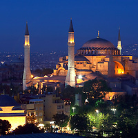 Istanbul, Turkey  May  2007 <br /> Hagia Sophia (Saint-Sophia) museum.<br /> Photo: Ezequiel Scagnetti